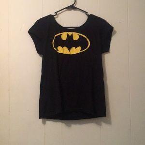 Tops - Black Batman shirt